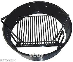 36 Fire Ring with Adjustable Cooking Grate YTF-36FRG by Yard Tuff