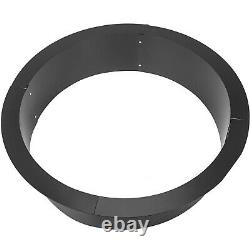 Fire Pit Ring Liner 45 Inch Outdoor Insert Brick Wood Fuel Above or In Ground