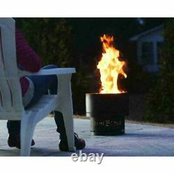 Flame Genie Compact Wood Pellet Smokeless Fire Pit PLUS a free Bag of Pellets