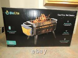 NEW BioLite FirePit For Camping Hunting Fishing Outdoor See Fire No Smoke NEW