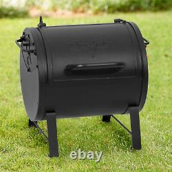 Portable Compact Tabletop Side Fire Box Charcoal Grill Tailgating Outdoor BBQ