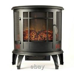 Regal Flame 22 Heater Ventless 180 Curved Electric Fireplace Stove