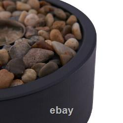Small Tabletop Heater Patio Deck Gas Fireplace Fire Pit Propane Bowl Outdoor NEW