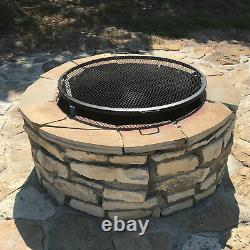 Sunnydaze Cooking Grate X Marks Outdoor Fire Pit Grill Accessory 36 Diameter