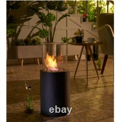 Table Top Fire Pit Portable Patio Outdoor Heater Gas Propane Bowl Fireplace L